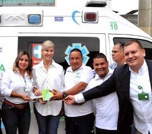Entrega de Ambulancia Medicalizada. Enero 2019
